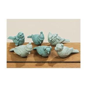 Sada 6 dekoratívnych sošiek Boltze Beppe