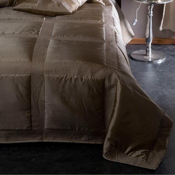 Prikrývka na posteľ Montana Champagne, 270x270 cm
