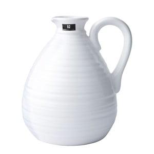 Keramická váza, 18 cm, bílá