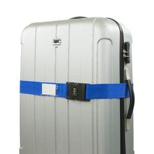 Modrý bezpečnostný pás na kufor Bluestar