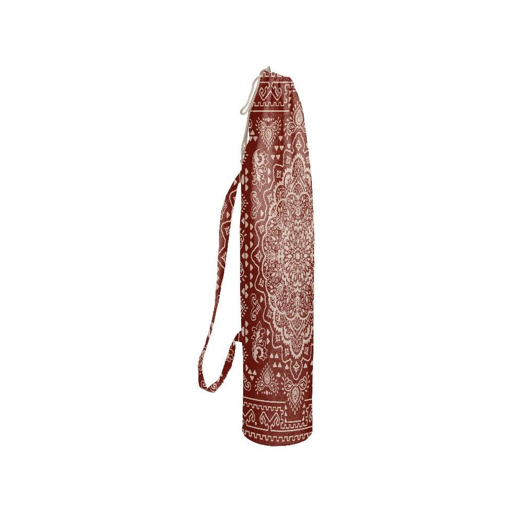 Látkový obal na jogamatku Linen Etnical, výška 80 cm