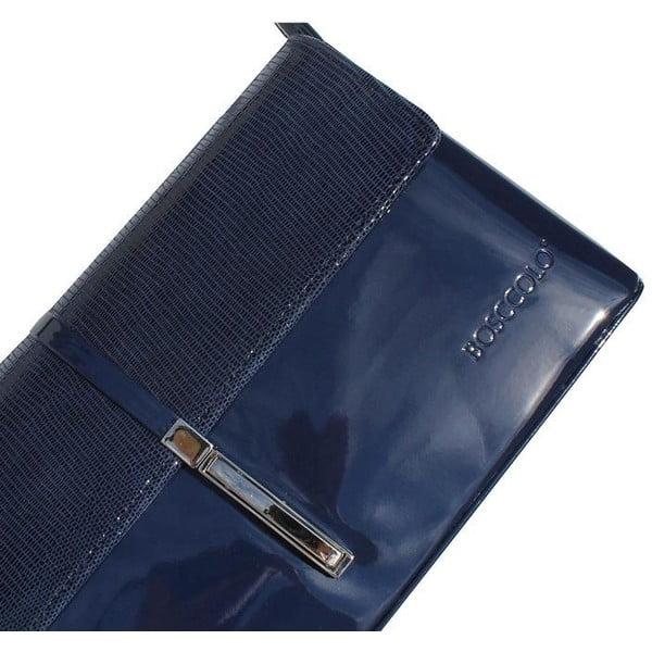 Kožená kabelka/listová kabelka  Boscollo Blue 2393