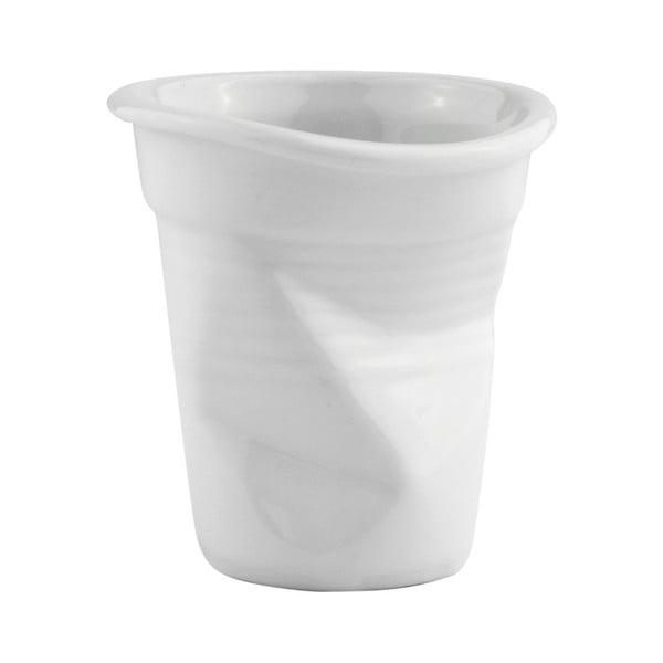 Biely porcelánový hrnček KJ Collection, 100 ml