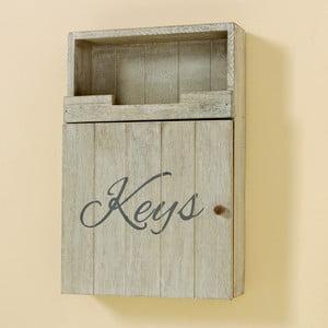Nástenná krabička na kľúče Keys