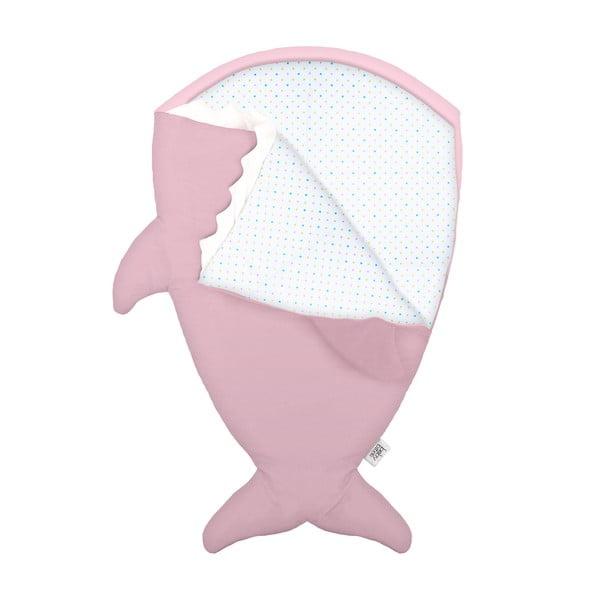 Detský vak na spanie Pink Polka Dot, vhodné i na teplé dni