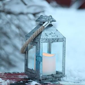 LED lampáš Anok, pozinkovaný