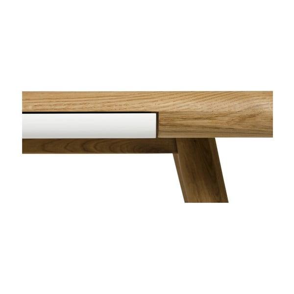 Jedálenský stôl z dubového dreva Gazzda Ena One,160x100x75cm