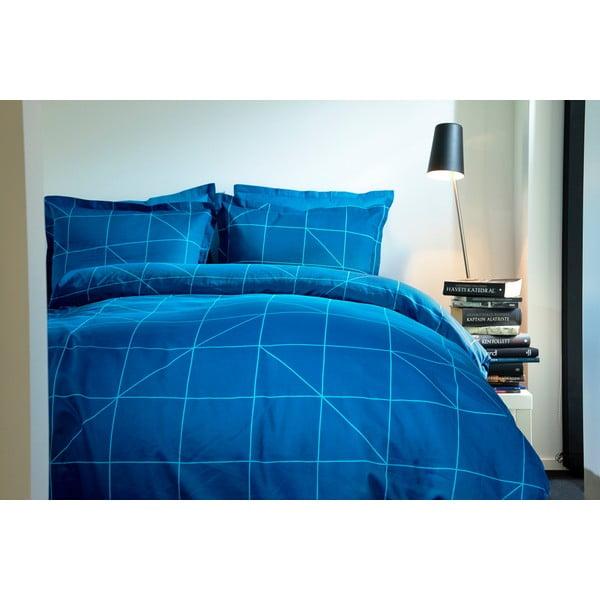 Predĺžené obliečky Turquoise Geometric, 140x220 cm