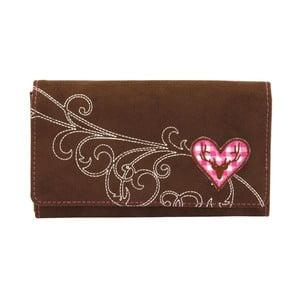 Dámska peňaženka Bavaria Brown/Pink
