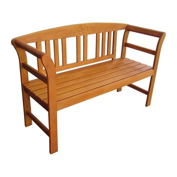 Záhradná lavica z eukalyptového dreva ADDU San Jose
