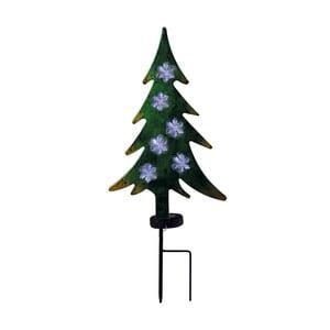 Solárne vonkajšie svietidlo v tvare vianočného stromčeka Naeve