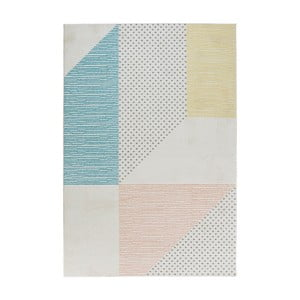 Tyrkysovo-ružový koberec Mint Rugs Madison, 120 × 170 cm