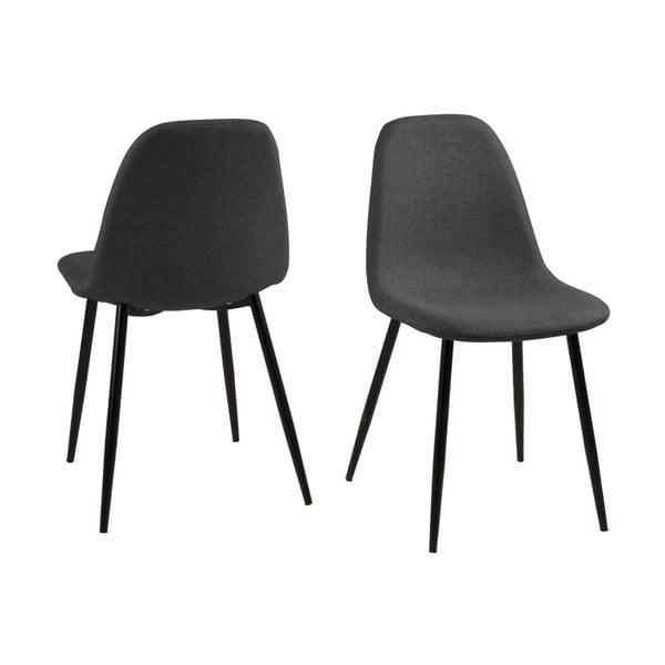 Jedálenská stolička Wilma, sivá
