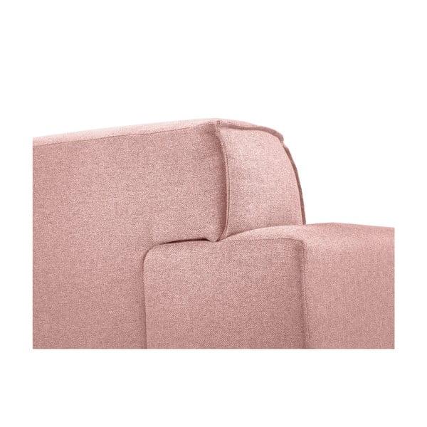 Ružová dvojmiestna pohovka Cosmopolitan Design Seville