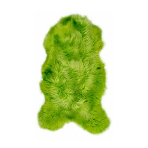 Zelená ovčia kožušina Swedo, 110 x 60 cm
