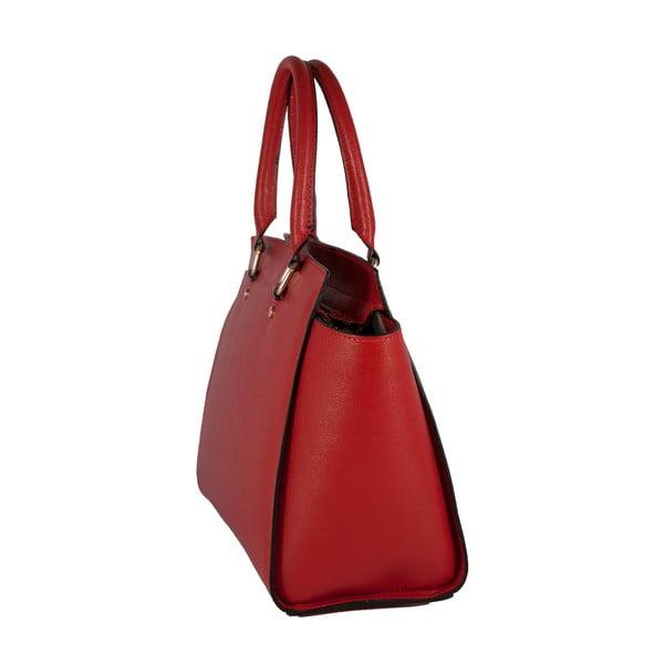 Kožená kabelka Andrea Cardone 2007 Red