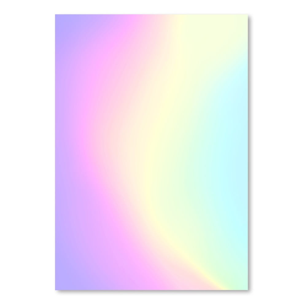 Plagát Americanflat Holographic Texture, 30 × 42 cm