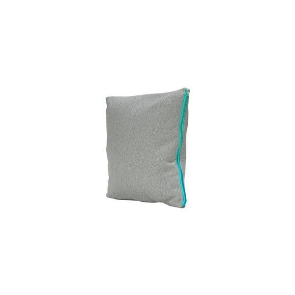 Vankúš Fisura Gris Azul, 45x45cm