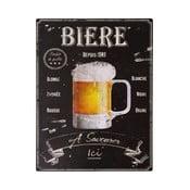 Plechová ceduľa Antic Line Biere