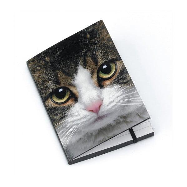 Zápisník A6 Tabby Cat