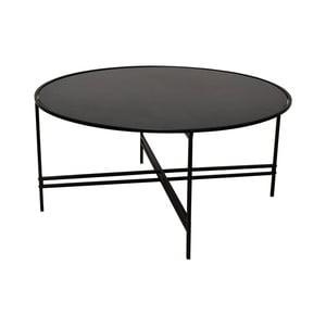 Čierny sklenený konferenčný stolík RGE Maison