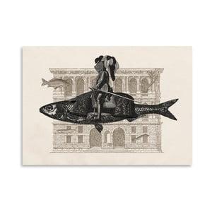 Plagát Impromptu od Florenta Bodart, 30x42 cm
