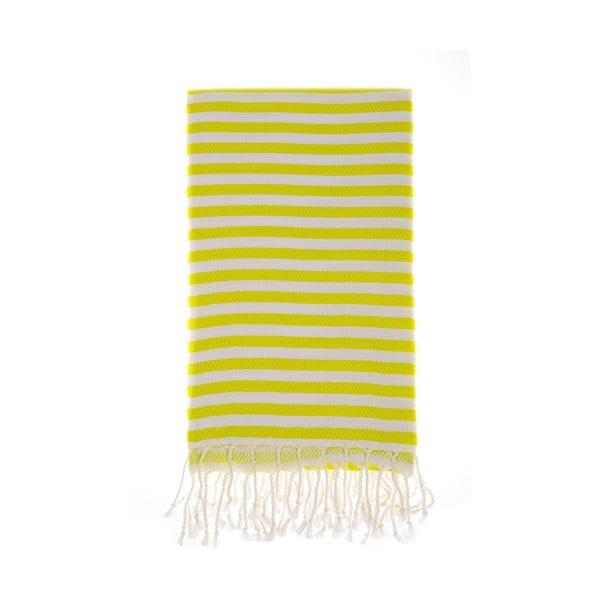 Hammam osuška Marmaris Yellow 100x180 cm