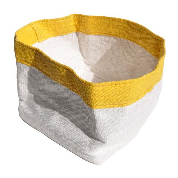 Košík Paperline Jaune. 9x11 cm