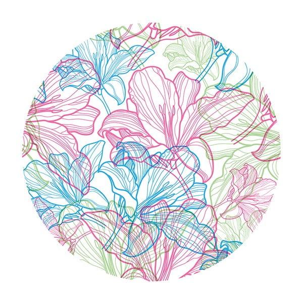 Kávový Stolík Flowers In White