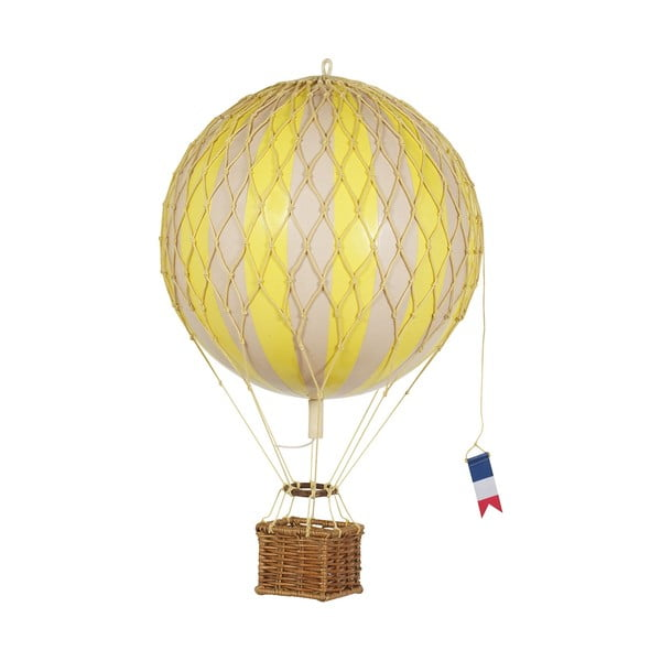 Model balónu Travels Light, žltý