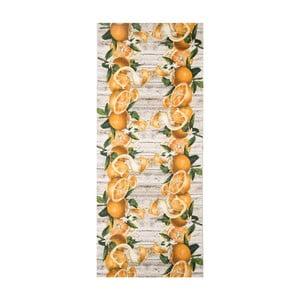 Vysokoodolný koberec Webtappeti Arance, 58 x 80 cm