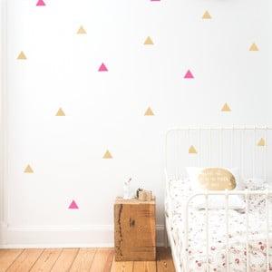 Samolepky na stenu Dreiecke 2 Farben, 36 ks