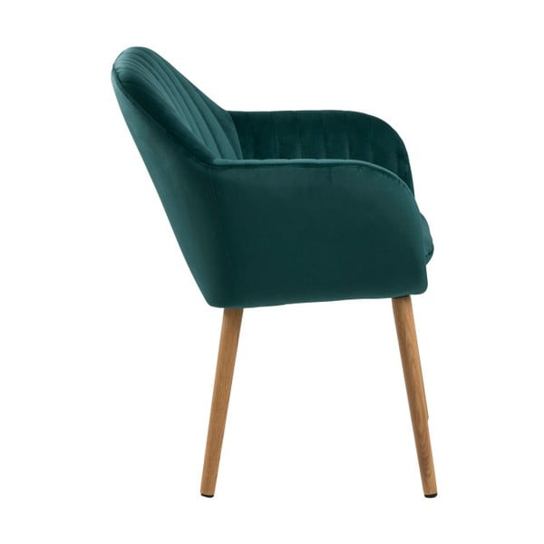 Zelená jedálenská stolička Actona Emilia Vic