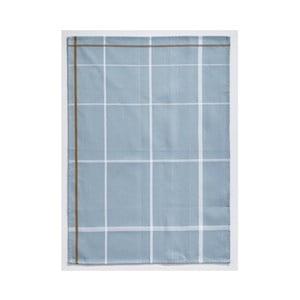 Svetlomodrá bavlnená kuchynská utierka Zone Garro, 50 × 70 cm