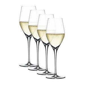 Sada 4 pohárov na šampanské Champagnes