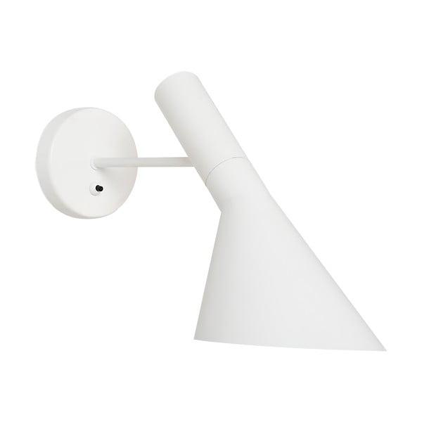 Nástenná lampa Feliz, biela