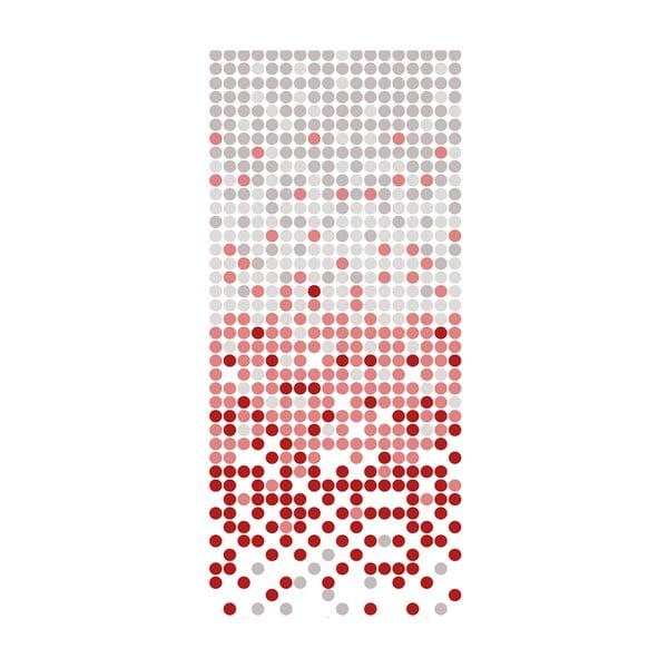 Sprchový záves White&Red Dotted