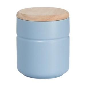 Modrá keramická dóza Maxwell & Williams Tint, výška 12,5 cm