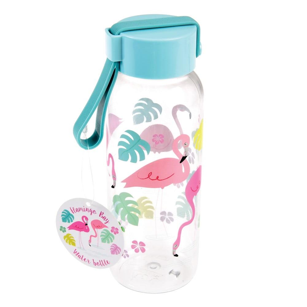 Fľaša na vodu Rex London Flamingo Bay, 340 ml
