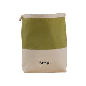 Zeleno-biely bavlnený vak na chlieb Furniteam Bread