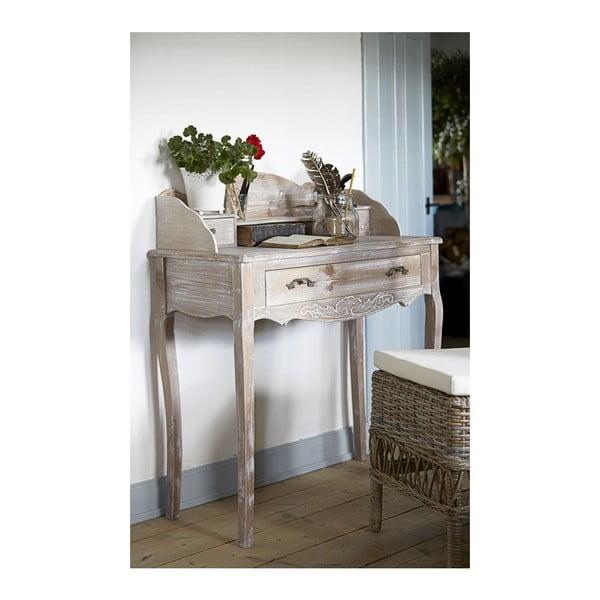 Pracovný stôl Kamill Bureau, 91x101x42 cm