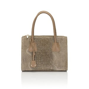 Kožená kabelka Giorgio Costa 15018 Fango