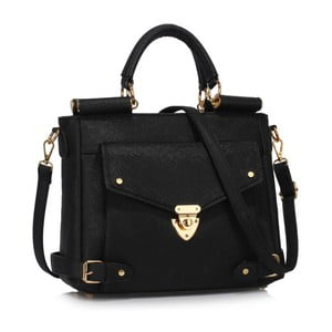 Čierna kabelka L&S Bags Meudon