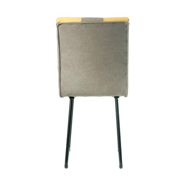 Stolička Gie El, svetlo šedé