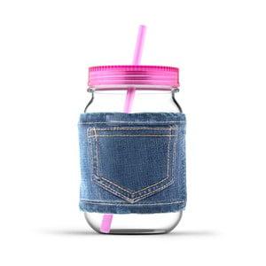 Pohár Jeans Pink