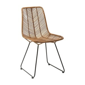 Hnedá jedálenská stolička Kare Design Ko Lanta