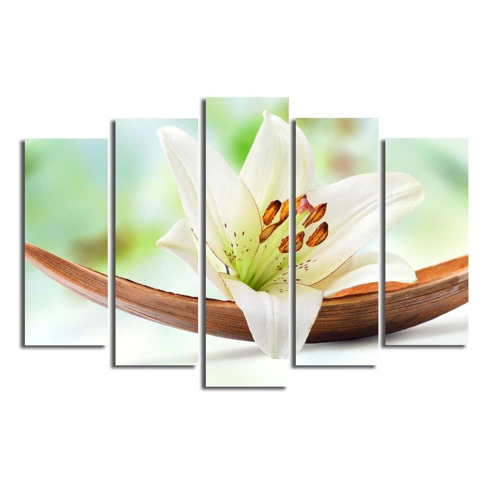 Viacdielny obraz Lily, 105 × 70 cm