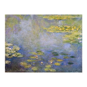 Obraz Claude Monet - Waterlilies, 80x60 cm