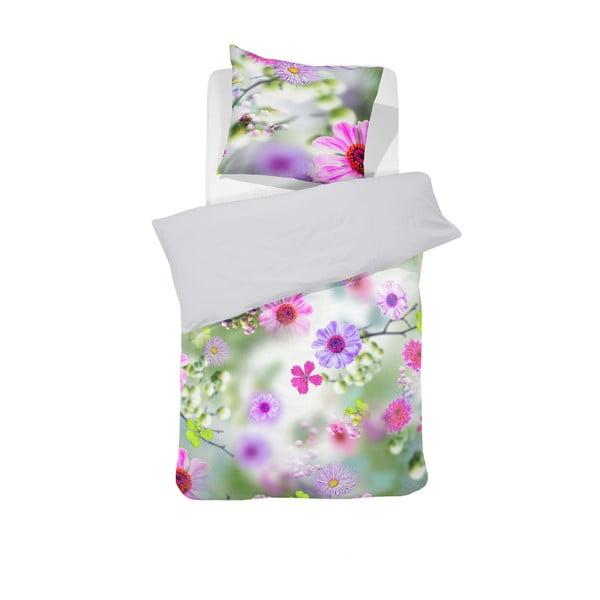 Obliečky Flower Meadow Pink, 140x200 cm