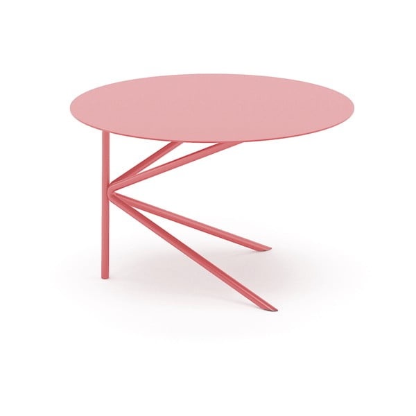 Stolík MEME Design Twin Basso Rosa Quarzo